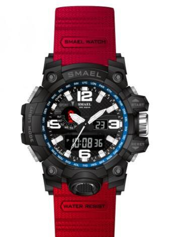 Smael Kids/Ladies Red Multifuction Watch