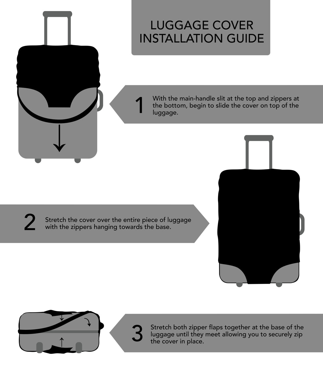 Luggage Cover Installation Guide