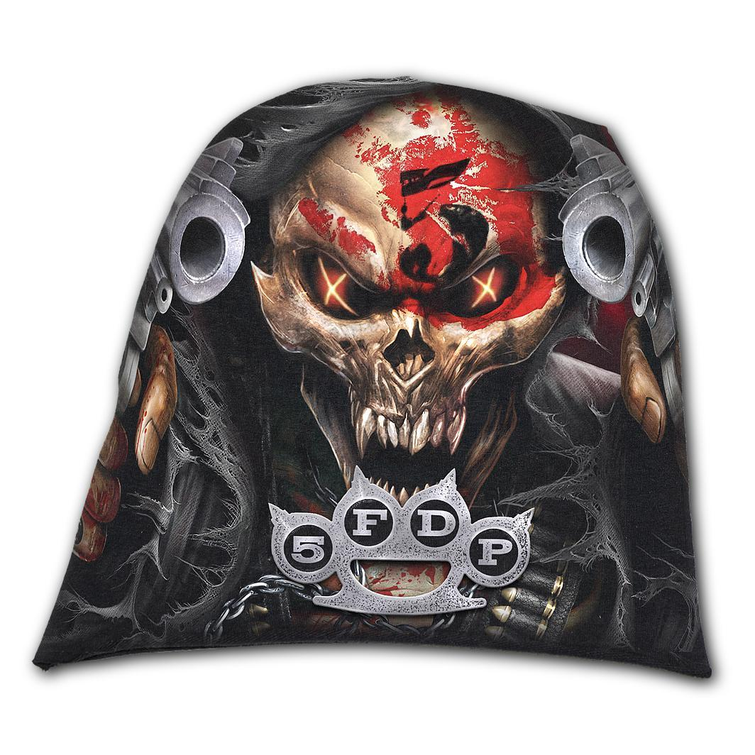 5FDP Reaper Assassin Black Beanie - Rebels Depot