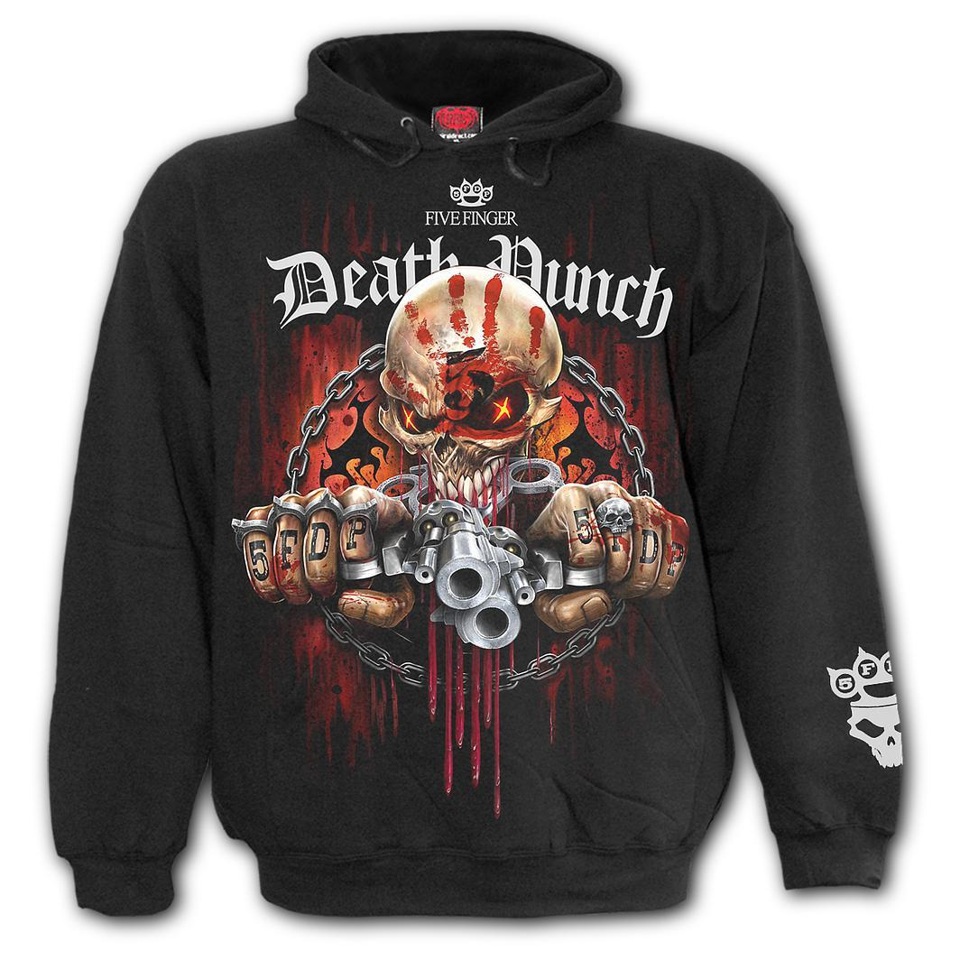 5FDP Reaper Assassin Black Hoodie - Rebels Depot