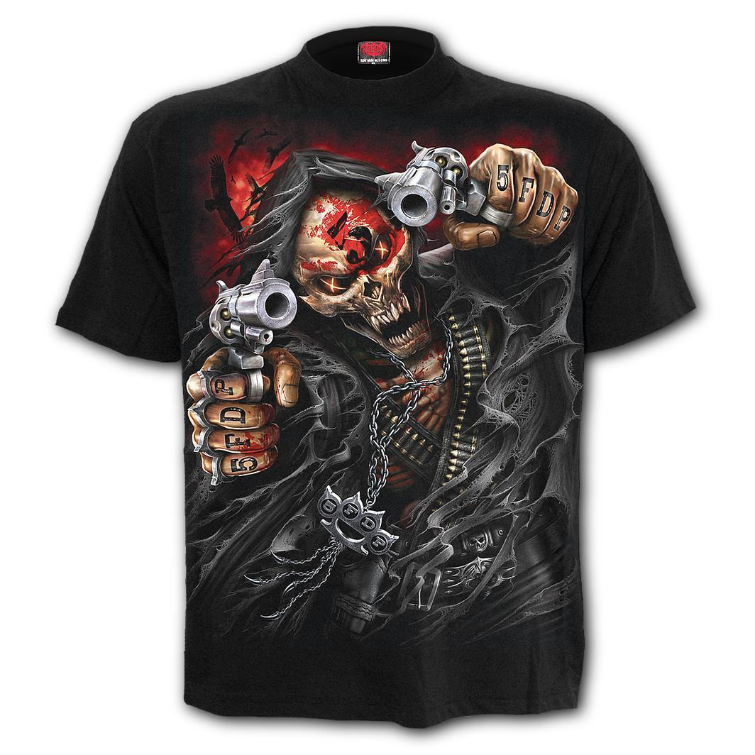 5FDP Assassin Men's Black T-Shirt