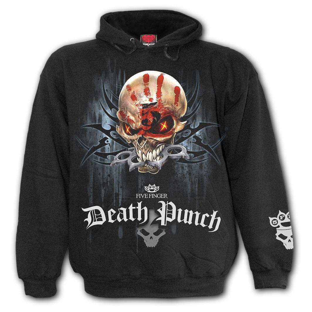 5FDP Game Over Black Hoodie
