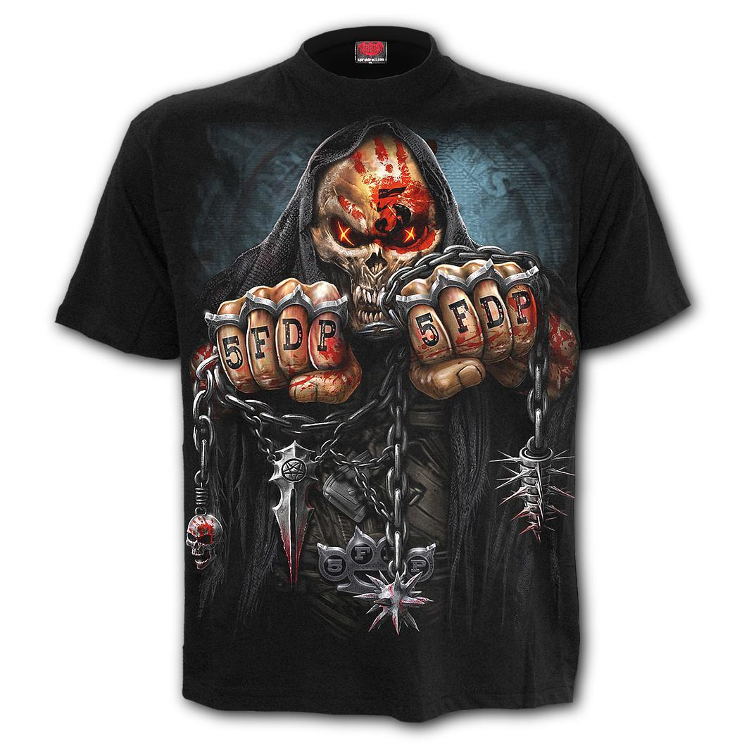 "5FDP - Officially Licensed ""GAME OVER"" Black T-Shirt"
