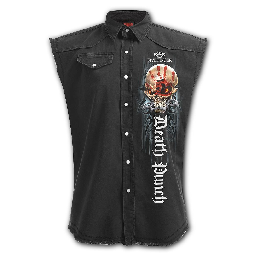 5FDP Game Over Men's Black Sleeveless Shirt - Rebels Depot