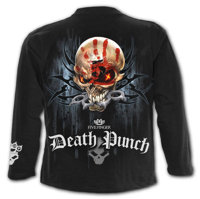 5FDP Game Over Men's Black Longsleeve Shirt - Rebels Depot
