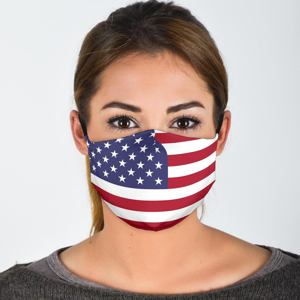 American Flag Reusable Face Mask - Rebels Depot