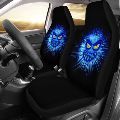 Blue Monster Car Seat Covers - Rebels Depot