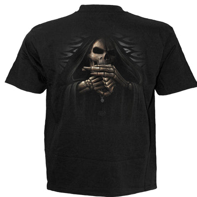 Defiant Grim Reaper Men's Black T-Shirt - Rebels Depot