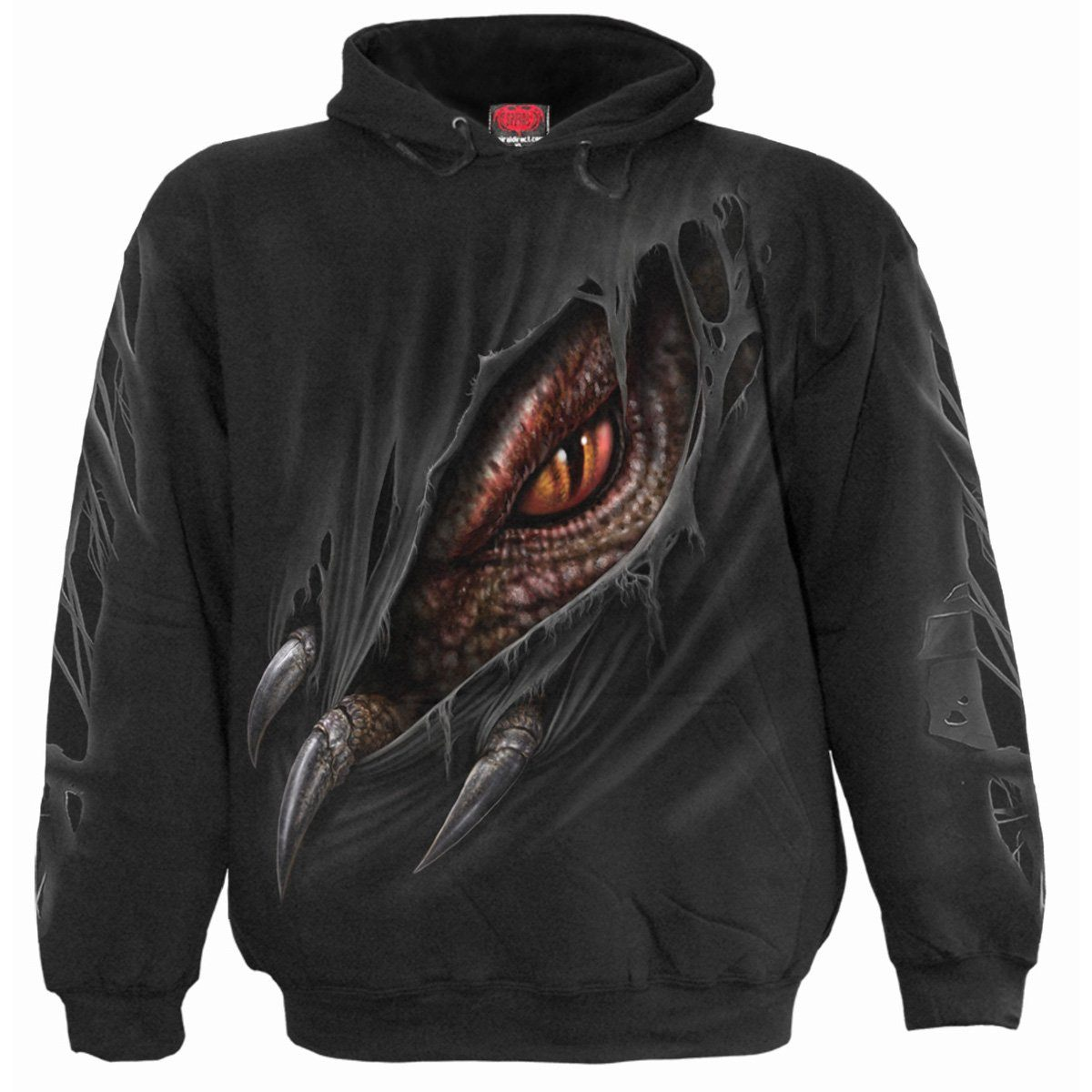 Captive Dragon Kids Black Hoodie