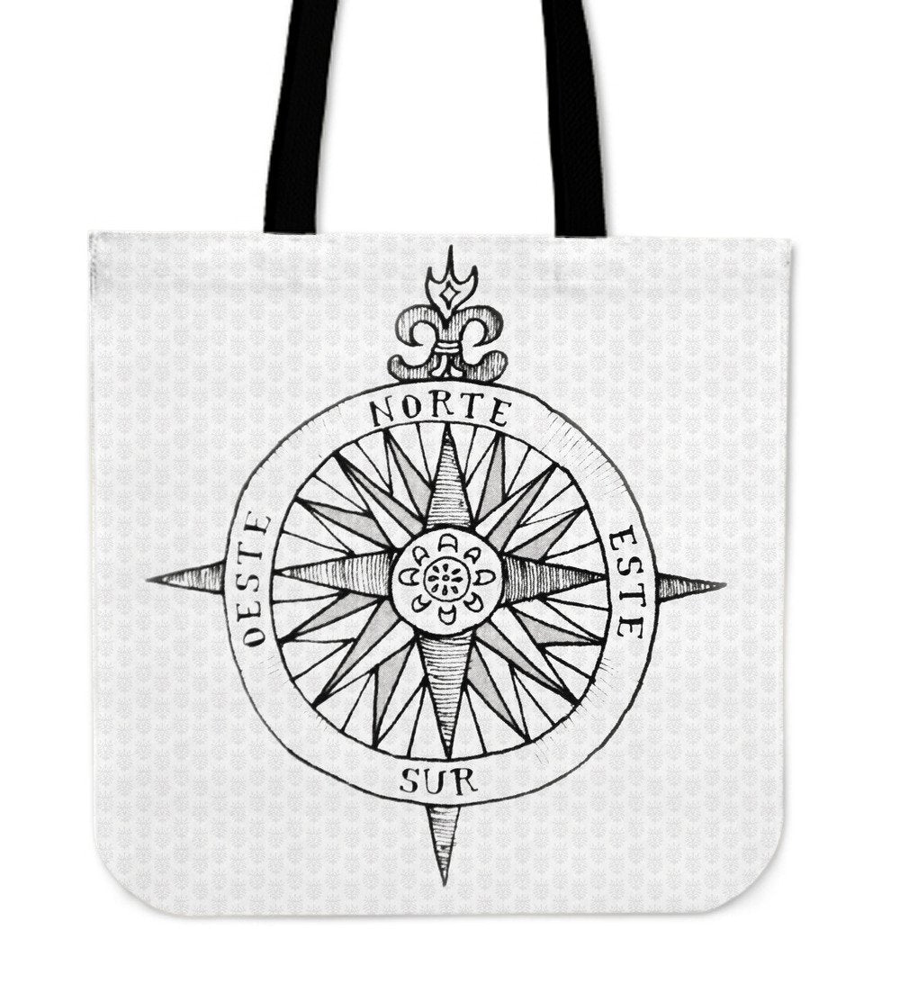 Compass Cloth Tote Bag - Rebels Depot