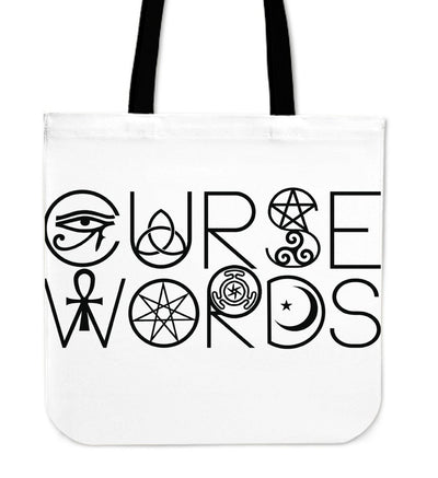 Curse Words Wiccan Cloth Tote Bag - Rebels Depot