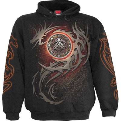 Savage Dragon Eye Black Hoodie - Rebels Depot