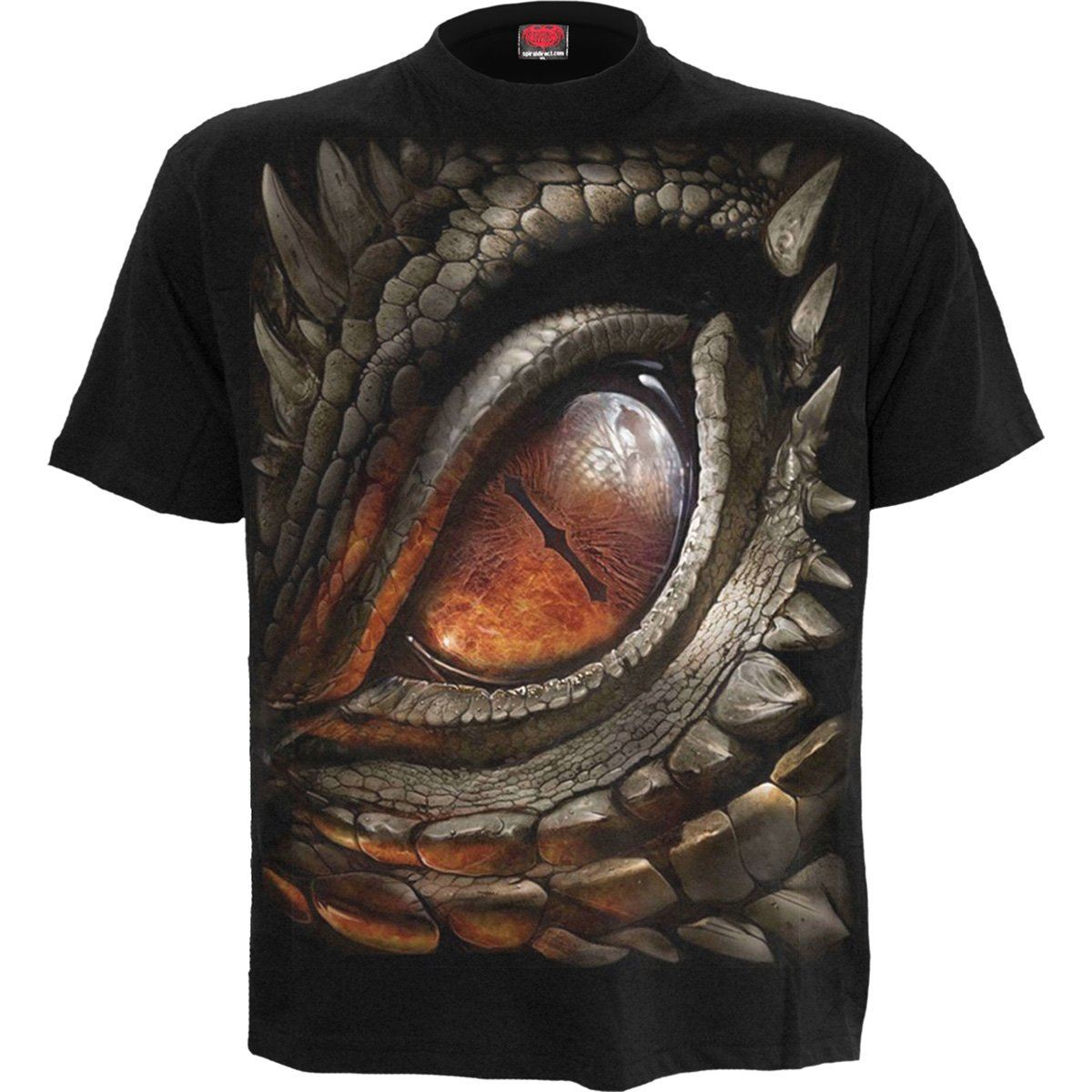 DRAGON EYE Sleeping Beast Black T-Shirt