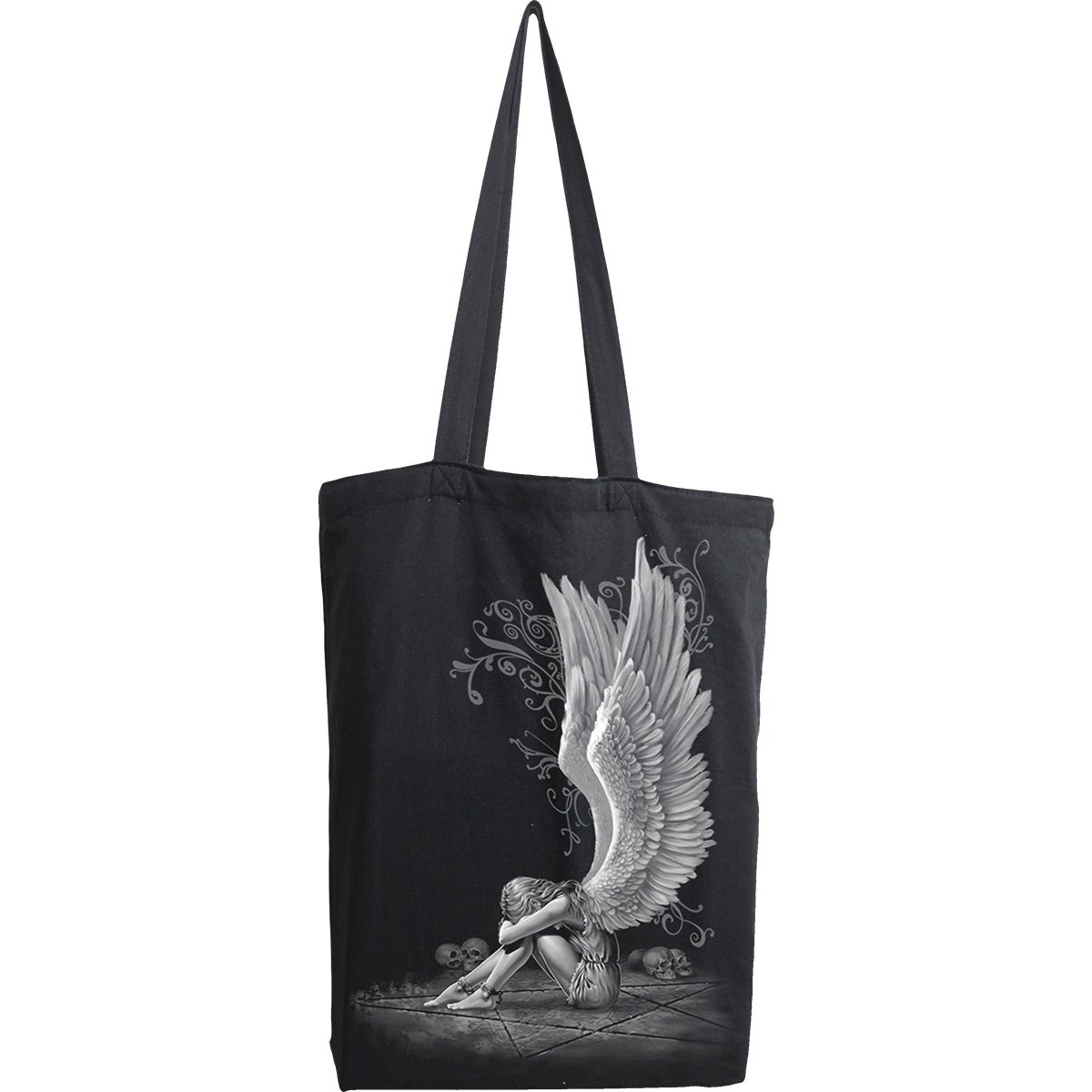 Angel In Sorrow Cloth Tote Bag - Rebels Depot