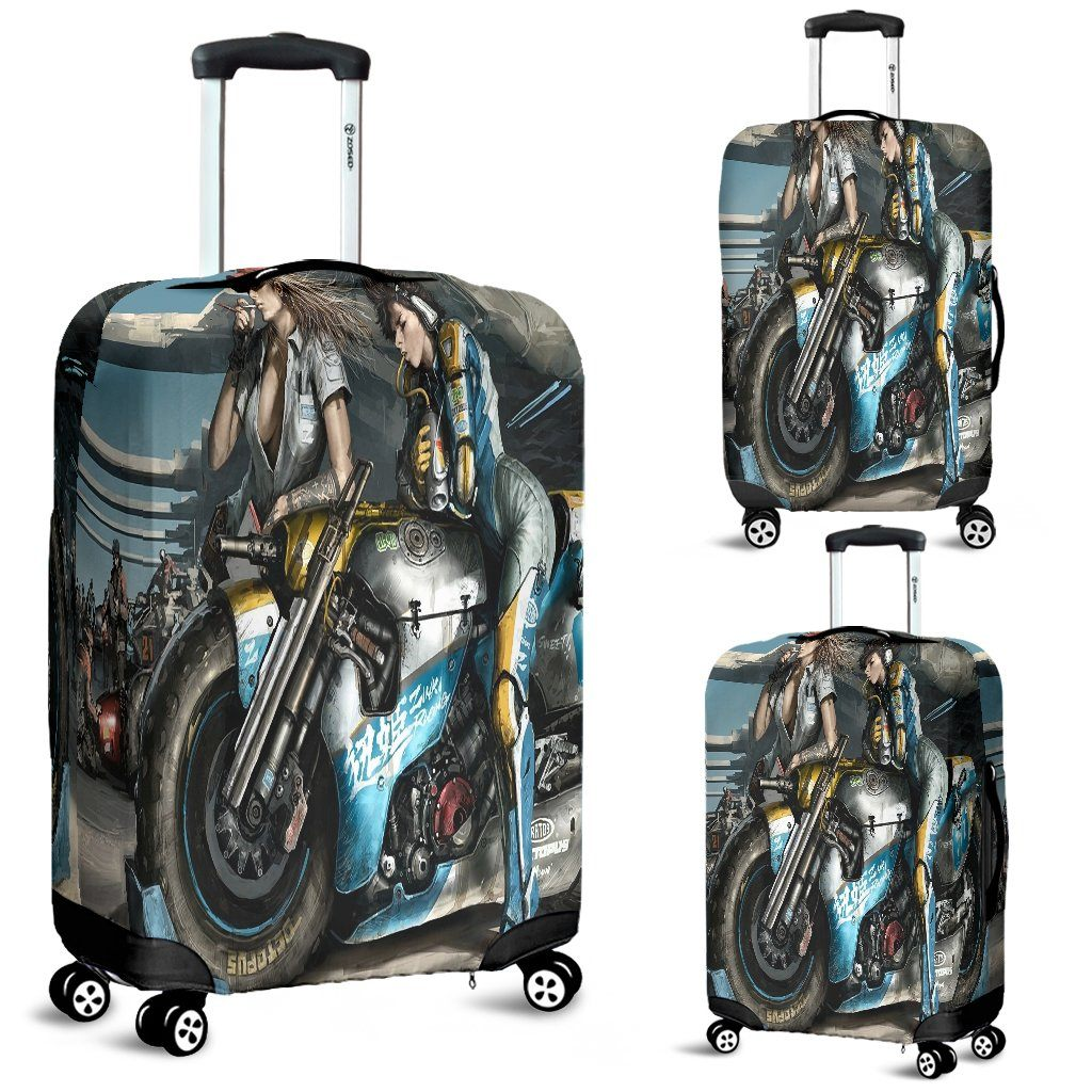 Fantasy Bike Luggage Cover