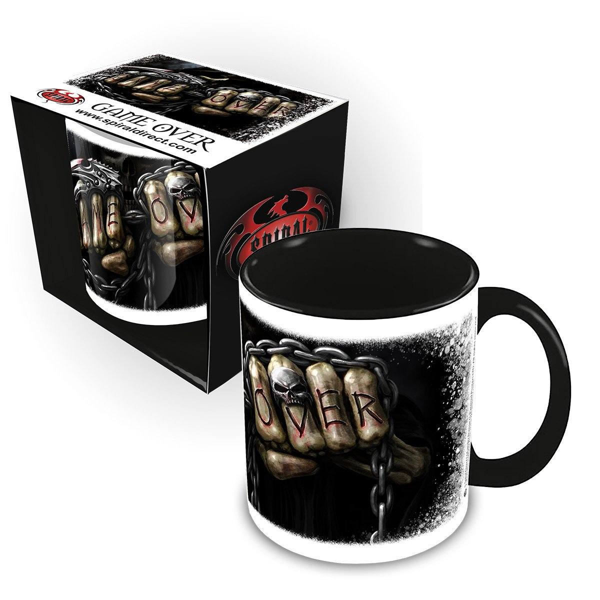 Game Over Grim Reaper Ceramic Coffee Mug