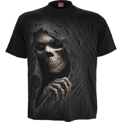 Grim Reaper Shadows Men's Black T-Shirt - Rebels Depot
