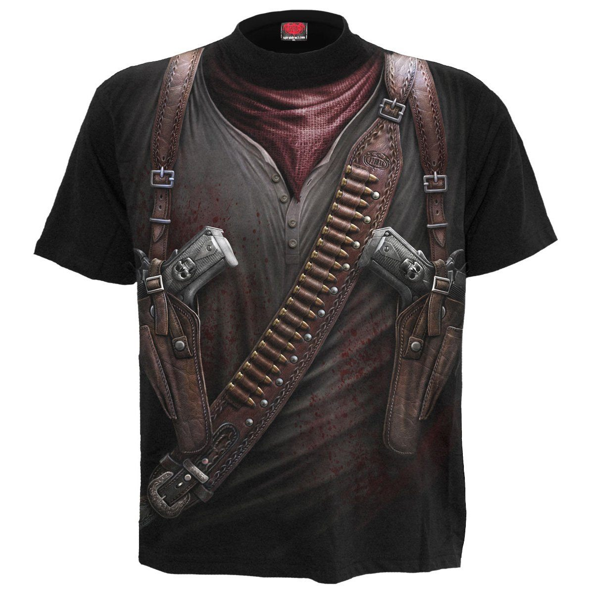 Apocalyptic Holster Wrap All Over Men's T-Shirt - Rebels Depot