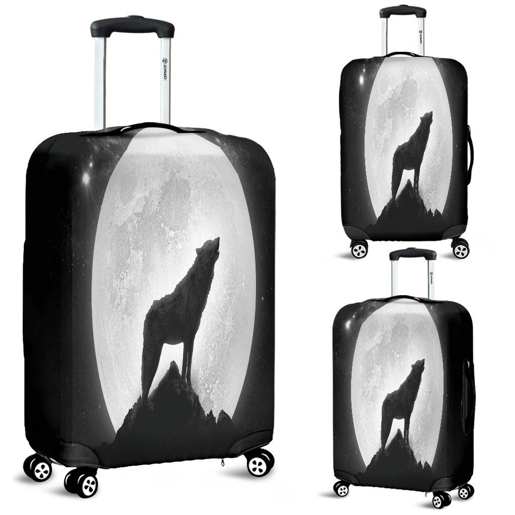 Howling Wolf Luggage Cover
