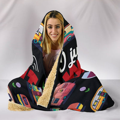 Love Wine Sherpa Hooded Blanket - Rebels Depot