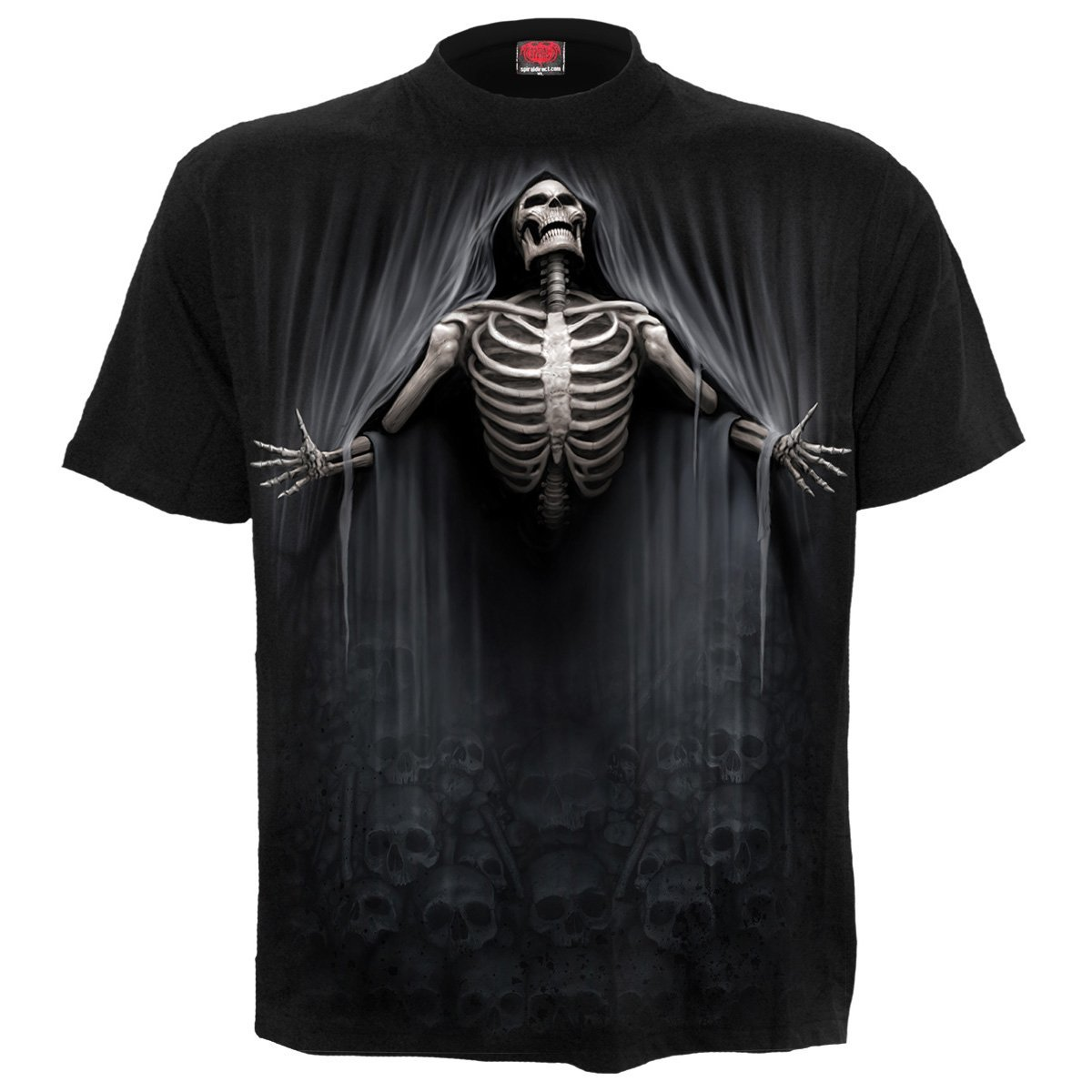 Shroud Of Death Men's Black T-Shirt