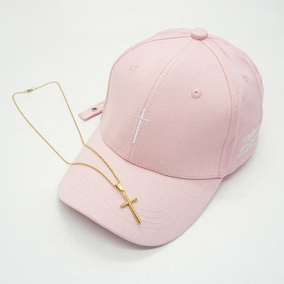 Limited Edition Cross Hat + Necklace - Rebels Depot