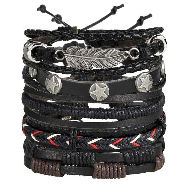 Multilayer Leather Bracelet - Rebels Depot