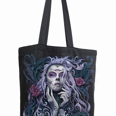 Day Of The Dead Cloth Tote Bag - Rebels Depot