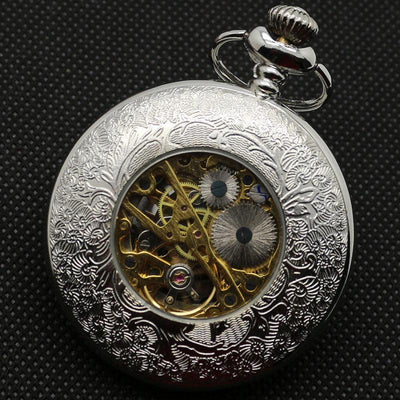Semi-Automatic Vintage Mechanical Pocket Watch - Rebels Depot