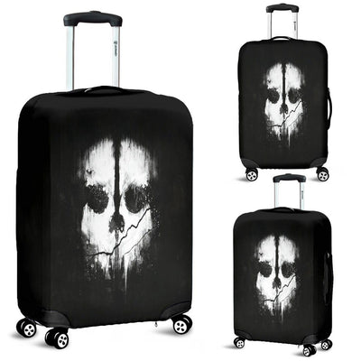 Gothic Skull Luggage Cover - Rebels Depot