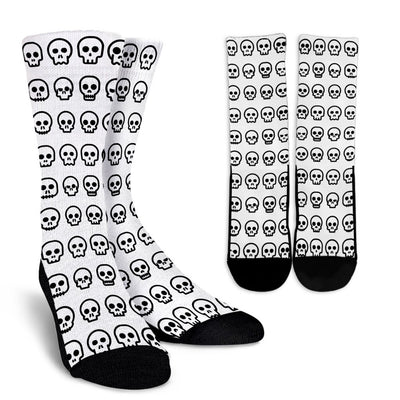 Cute Skully Crew Socks - Rebels Depot