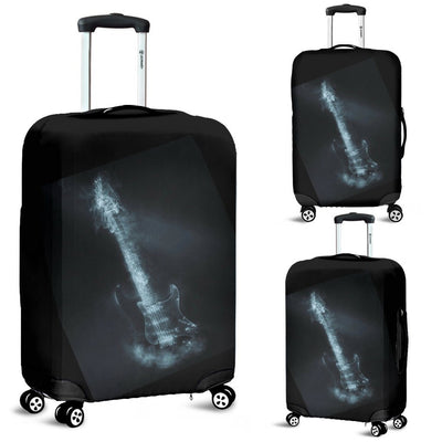 Smoking Guitar Luggage Cover - Rebels Depot