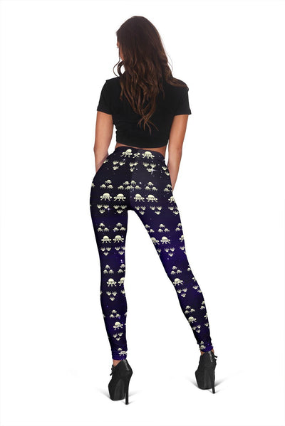 Space Force Alien Women's Leggings - Rebels Depot