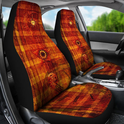 Steampunk Clock Car Seat Covers - Rebels Depot