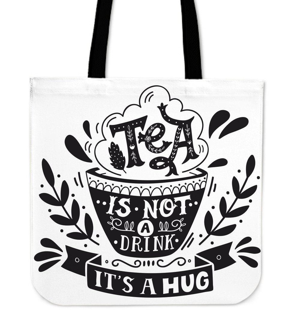 Tea's A Hug Cloth Tote Bag - Rebels Depot