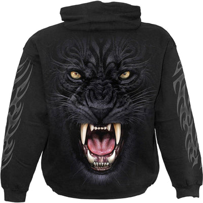 Tribal Panther Black Hoodie - Rebels Depot