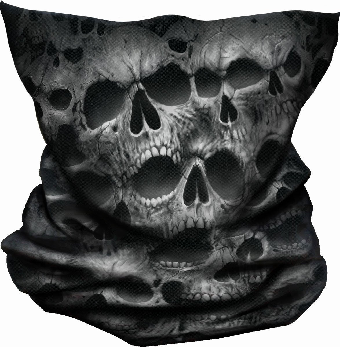 Twisted Skulls Gothic Design Balaclava