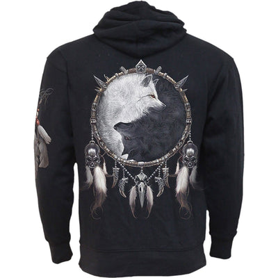 WOLF CHI - Side Pocket Hoody Black - Rebels Depot