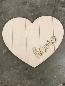 Pallet Heart with Overlay Kit