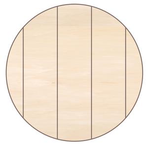 Pallet Rounds / Circles (5 false pallet boards)