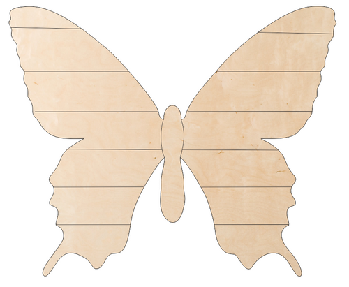 Butterfly with Pallet Wings
