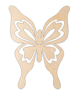 Butterfly with Cutout Wings