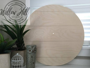 Clock Round with 5 False Pallet Boards