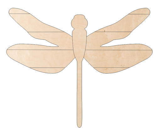 Dragonfly with Pallet Wings