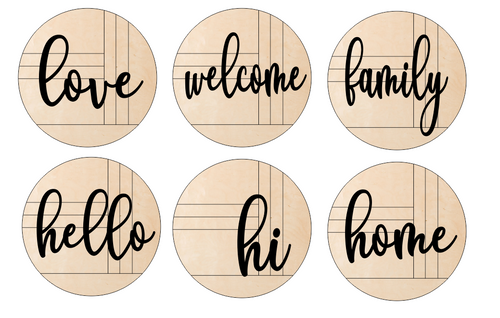 Farmhouse Pallet Rounds with Overlay