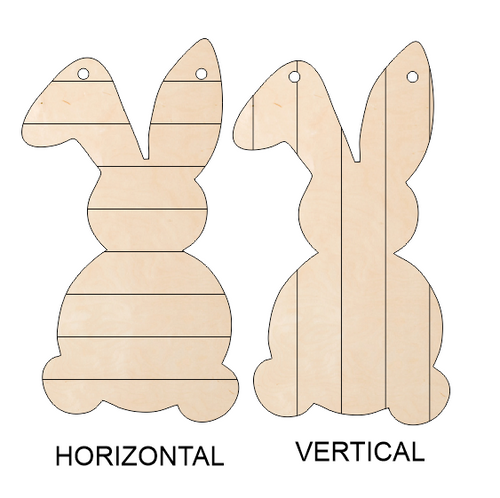 Floppy-Ear Bunny Door Hanger