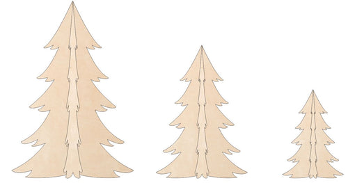 Christmas Trees - Full 3-D