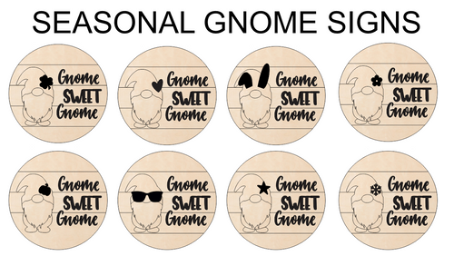 Gnome Sweet Gnome - Interchangeable Set