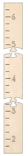 Puzzle Piece Growth Chart