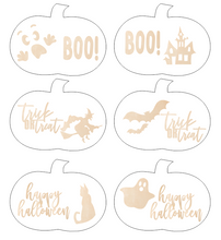 Load image into Gallery viewer, Halloween Pumpkin Designs